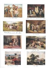 CIGARETTE CARDS.John Player Tobacco.FAMOUS PAINTINGS.(X-Large).(Set of 10)(1913)