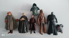 lot of 5 mix star wars action figures Hasbro toy 2000's