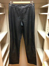 NINE WEST Genuine Leather Pants Size 4