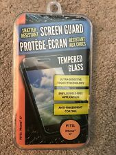 Shatter Resistant Screen Guard Ultra Sensitive Anti-Fingerprint Bubble Free