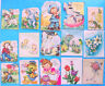 1950s DIE-CUT EASTER GREETING CARD LOT by RUST CRAFT NORCROSS CHARMCRAFT GIBSON