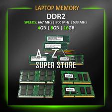 DDR2 Laptop Memory RAM 4GB 8GB 16GB 667 MHz 800 MHz 533MHz lot SODIMM