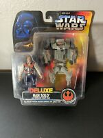 "Star Wars: Han Solo Smuggler Flight Pack 3.75"" Deluxe Action Figure Kenner 1996"