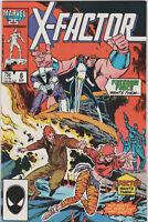 X-Factor Comic Book #10 Marvel Comics 1986