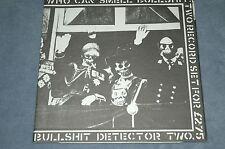BULLSHIT DETECTOR TWO - VARIOUS VINYL LP Original Issue 1982 PUNK NM CRASS