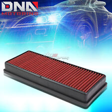 FOR S/CLS/E/GL/ML CLASS AMG RED REPLACEMENT RACING DROP IN AIR FILTER PANEL