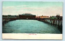 Ocean Park, CA - PRE 1908 PIER SCENE - UDB POSTCARD