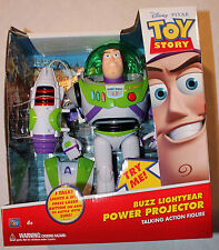 """Toy Story 12"""" Buzz Lightyear POWER PROJECTOR Talking Action Figure!"""
