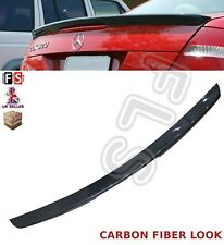 MERCEDES CLK A209 C209 AMG REAR TRUNK BOOT LIP SPOILER 03-09 CARBON FIBRE LOOK