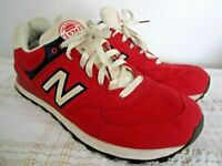 New Balance 574 Rugby Red Sneakers Shoes ML574RUR Sz US 14