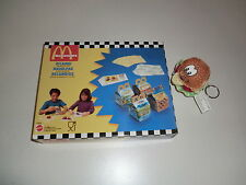 Mattel Vintage McDonald's Happy Meal 1994 Kids Playset Hamburger Nachfüllpackung