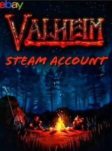Valheim GLOBAL Steam Account | Full Game | Read Description
