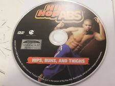 Hip Hop Abs Hips Buns And Thighs DVD Disc Only Free Shipping 36-25