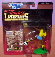 1998 PELE Timeless Legends soccer - FREE s/h - starting lineup