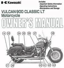 2009 KAWASAKI VULCAN 900 CLASSIC LT MOTORCYCLE OWNERS MANUAL -VN900D9-VULCAN 900