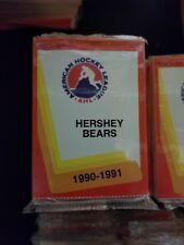 1990-91 Pro Cards AHL HERSHEY BEARS Hockey Team Set Sealed