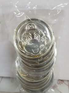 Super Mario Brothers Gold Coins, Party Favor 12 QTY sealed new A10