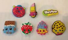 Lot of 7 Shopkins Badges - Approx 3cms Big - Party Favour Loot Bags