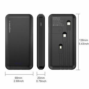 X-DRAGON Essential Powerbank 500000mAh USB-C Lightning Eingang Für Phone Samsung