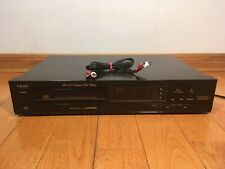 TEAC PD-135 Single CD Compact Disc Player 1988 Made in Japan TESTED 100%