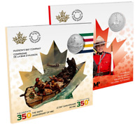 🇨🇦 Canada's Moments to Hold: Coins #1 #2, National Police & Hudson's Bay, 2020