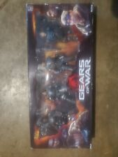 Gears of War: Marcus, Augustus, Drone, Sniper 4 Pack Action Figures 2008 NECA