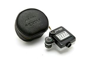 Asahi Pentax Meter with Black Leather Case #F1308