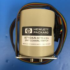 HP 87104A Multiport Coaxial Switch, DC to 4 GHz, SP4T