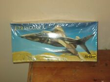 Heller Jaguar A plastic model kit 1/72 scale original cellophane