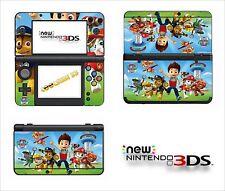 SKIN STICKER AUTOCOLLANT - NINTENDO NEW 3DS - REF 203 PAW PATROL