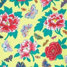 """CLEARANCE! 56"""" Remnant Philip Jacobs Floating World Zest Peony & Butterflies"""