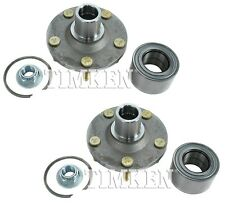 Pair Set of 2 Front Timken Wheel Bearing and Hub Kit for Ford Mazda Mercury FWD