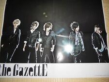 the GazettE PSC POSTER JapanLimited! (Oct 2011)!