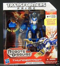 "Hasbro Transformers Prime 2012 Decepticon ""Thundertron"" Robots in Disguise"