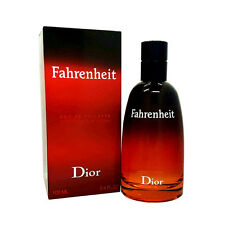 FAHRENHEIT by Christian Dior 3.4 oz 100 ml Men EDT Cologne ~ Sealed ~ New!!!