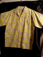 Vintage.....Retro...Tropicana.....Hawaiian...Floral......Men's Shirt...Medium