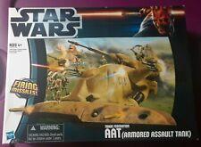 Star Wars The Clone Wars Trade Federation AAT (Armored Assault Tank) RARE BOX