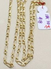SOLID 18k Saudi Gold Chain Necklace - 18 inches - 1.8 g