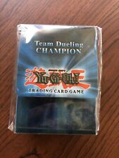 Upper Deck Konami Yugioh Team Dueling Champion Deck Case Box Sealed