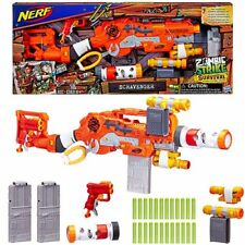 NERF Dart Gun Zombie Strike Survival System Scravenger Toy Rifle & Accessories