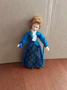 Vintage German CACO Dollhouse Doll - Woman, Lady, Mother 0150