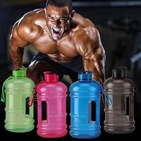 650ML/2.2L big BPA Free Sport Gym Training Camping Drink Water Bottle Cap Kettle