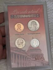 Silver US Presidential Proof Coin Set w/1964 dimePennyNickle and -1972 S Quarter