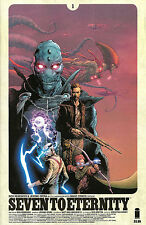 SEVEN TO ETERNITY #1,2,3,4,5,6,7,8,9 Image Comics COVER A 1ST PRINTS! NM SET LOT