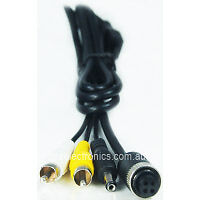 RCA Cable Male with Power Cable