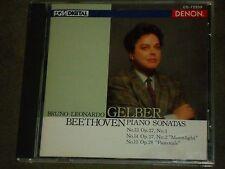 Bruno-Leonardo Gelber Beethoven: Piano Sonatas Moonlight Pastorale