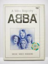 ABBA A Video Biography MV Karaoke Rare Made In Singapore DVD FCB1196