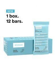 RXBAR Vanilla Almond, Breakfast Bar, High Protein Snack Box 12 Bars BOX