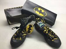 Vintage NOS 1989 Converse Batman DC Comics Hi Top Sneakers 5 1/2