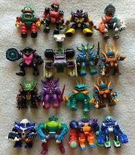 Lot Vintage Galoob Z Bots Figures Micro machines Zbots, Samurais, robots